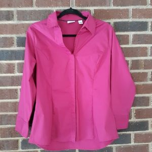 Lee Riders Women's Button Down Top Size Large